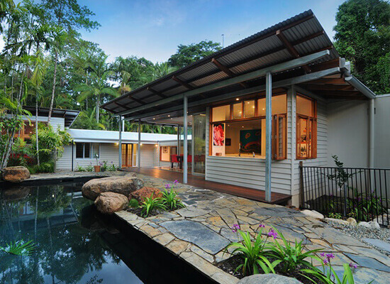Renovation & extension to home by Maxa Constructions, house builders in Cairns.