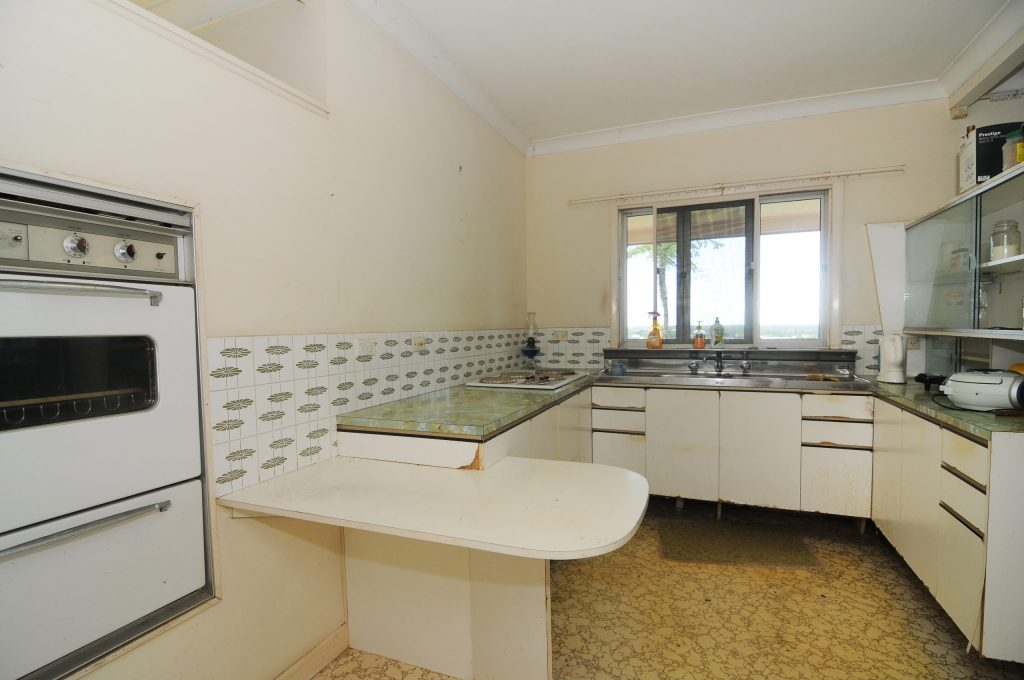 original kitchen before renovation