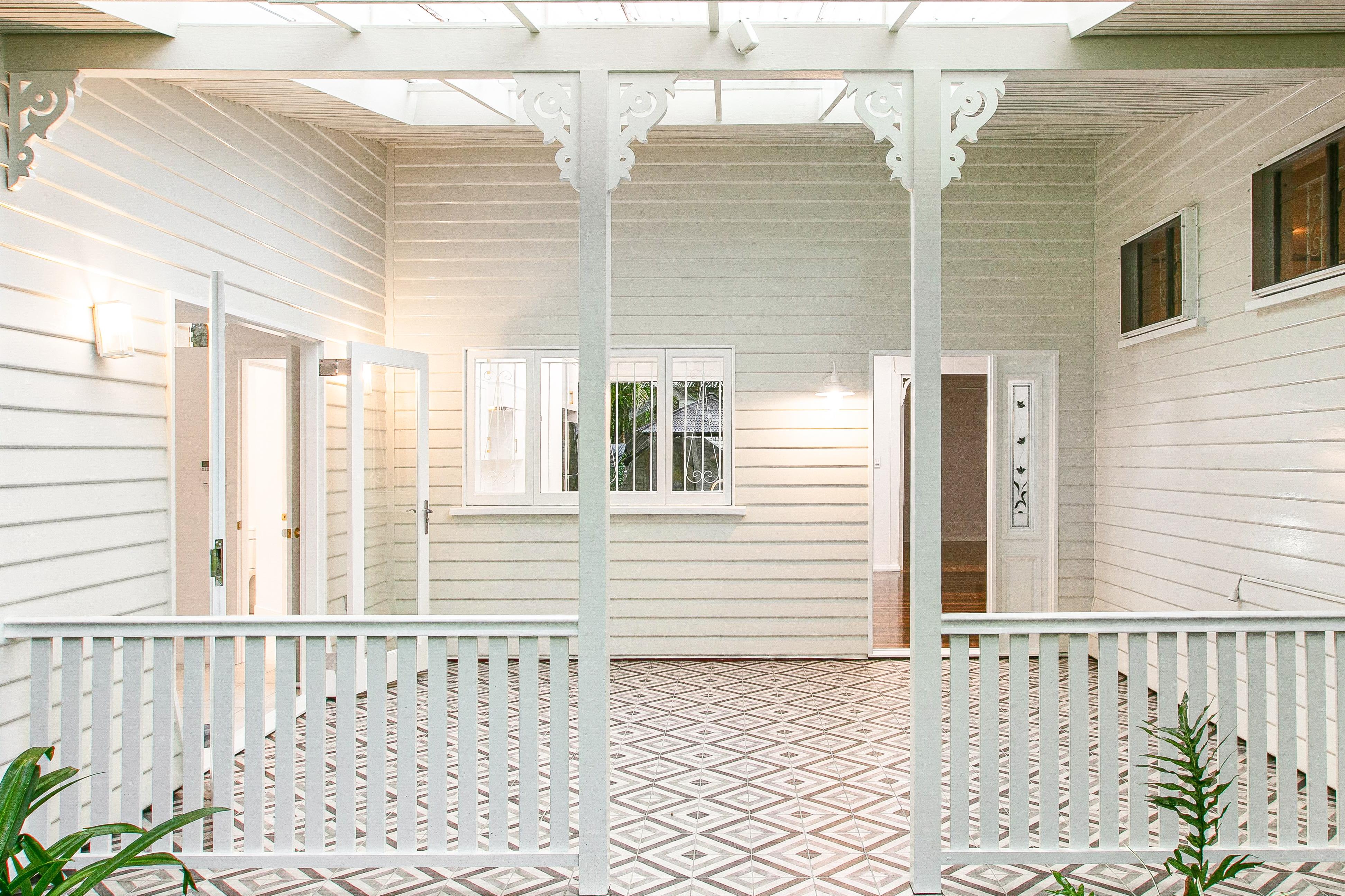 Entrance to Old Queenslander Home